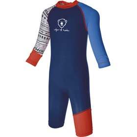 Isbjörn Sun Swimsuit Children blue